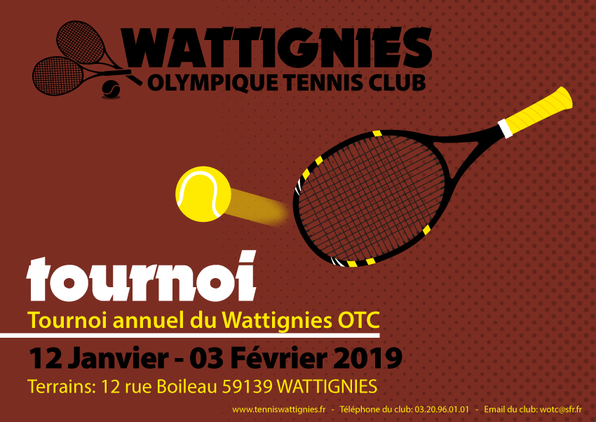 TOURNOI TENNIS WATTIGNIES